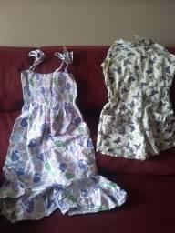 Bazar de roupas infantis usadas e novas