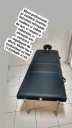Maca portátil maleta profissional semi nova