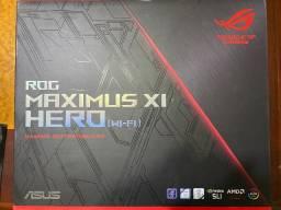 Kit Processador i5 9600k + Placa mae Asus ROG z390 Maximus XI Hero Wifi