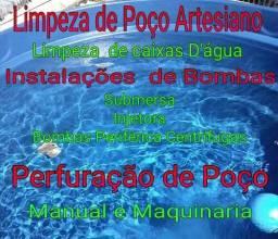 Limpezas  Manutenções de (Poços Artesiano)
