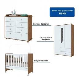 Quarto Infantil (berço, cômoda e guarda-roupa)