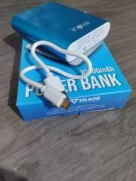 Power Bank 10000 mAh / Carregador Portátil de celular