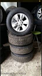 Rodas Hilux Srv 17? 4 pneus novos OPORTUNIDADE!