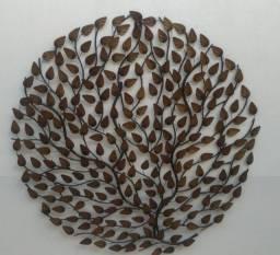 Mandala de folhas rústica 120cm