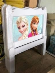 Cama em Madeira Maciça da Frozen #Entrega e Montagem Grátis