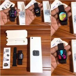 Smartwatch Iwo Fk78 + 1 Pulseira de brinde - relógio inteligente