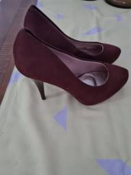 Sapato salto alto plataforma