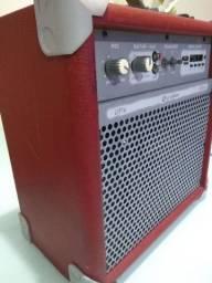Caixa Ativa Multiuso Amplificada Bluetooth Up6! 45w