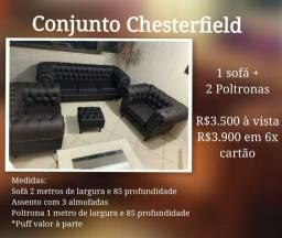 Conjunto Chesterfield
