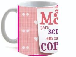 Caneca Cerâmica Feliz dia das Mães SMB 02