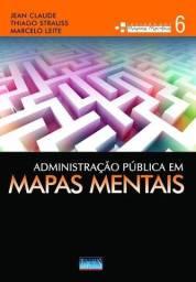 Livro Administração Pública em Mapas Mentais
