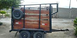 Vende se trailer reboque para dois cavalos