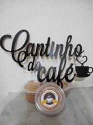 Café cremoso.