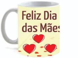 Caneca Cerâmica Feliz dia das Mães SMB 01