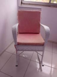 Cadeira de balanço para mamãe.