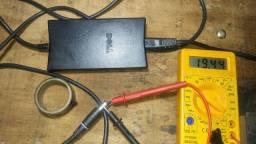 Fonte original usada Dell 19 volts 3.5 amperes