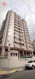 Apartamento com 2 dormitórios para alugar, 85 m² por R$ 2.800/mês - Canto do Forte - Praia