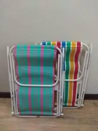02 Cadeiras de Praia
