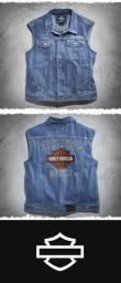 Colete Jeans Original Harley Davidson