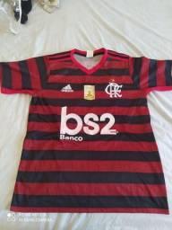 Camisa Flamengo I 19/20 Adidas Masculina