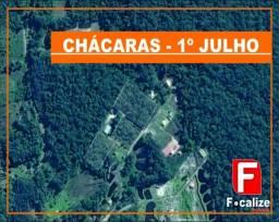 Chácara à venda em 1º de julho, Itapoá cod:VCH02