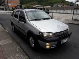 Fiat Palio weenk adven 1.8 8válvulas completa GNV legalizado - 2005