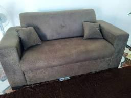 Sofá dois e três lugares bem confortável