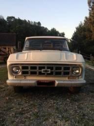 Chevrolet D-10 carroceria em madeira - 1983