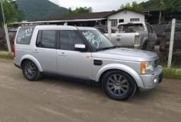 Sucata Land Rover Discovery 3 HSE 2.7 4X4 TDI Diesel AUT. 2005 Para Retirada de Peças