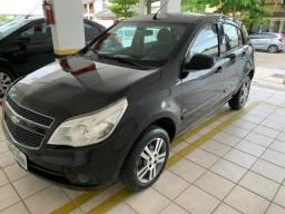 Vendo ou troco Agile LTZ 2010 preto. Carro bem bonito e completo - 2010