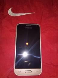 Vendo celular Samsung j1 Mini Dourado