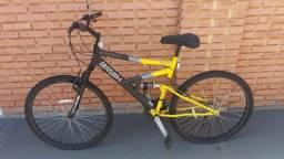 Bicicleta Semi Nova 21V c/ armotecedores - Pra vender logo!