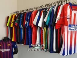 1283b786f5 Arena Sports Recife - Camisas de Futebol - Clubes e Seleções - Venha  conferir!