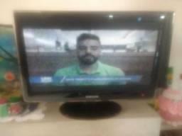 Televisão 21 polegadas tela plana lcd