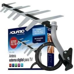 Antena Externa Digital Para Tv Dtv-1500 2 Em 1 (Entrega gratis)