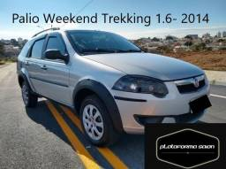 Fiat Palio Weekend 1.6 Trekking 2014 Financiamos 100% Parcela R$999,00 - 2014