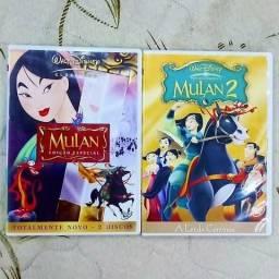 DVD Mulan (Edição Especial 2 discos) + Mulan 2