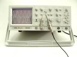 Osciloscópio Analógico Minipa Mo 1230g 30mhz