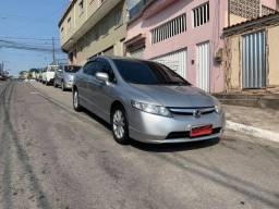 New Civic LXS 1.8 Ano 2007 Completo + Gnv