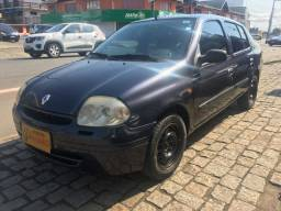 Clio sedan RT 1.6 2003 completo