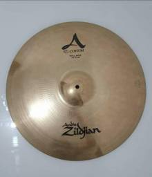 Prato de bateria/crash/ataque zildjian A custom 18