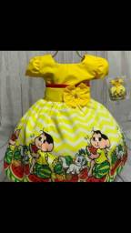 Vendo vestido de festa da Magali