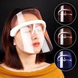 Máscara facial para terapia de luz LED