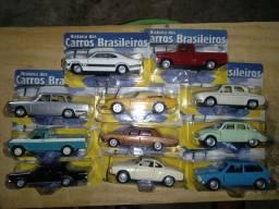 11 miniaturas de carros nacionais