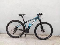 Bike aro 29 tsw ride quadro 15,5 24 velocidades pneu tubless bicicleta