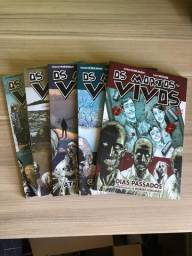 Livros The Walking Dead - # 1,2,3, 15 e 16