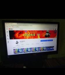 Vendo monitor semi novo por 250