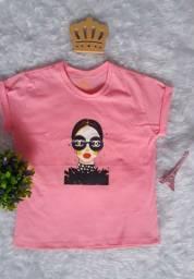 Promoção Blusa T-shirts