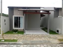 Casa Pronta em Condomínio Fechado em São Gonçalo do Amarante - 2/4 - 60m²