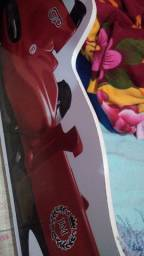 Cama infantil carros com baú